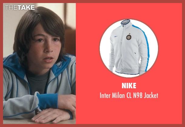 Nike gray jacket from Crazy, Stupid, Love. seen with Jonah Bobo (Robbie)