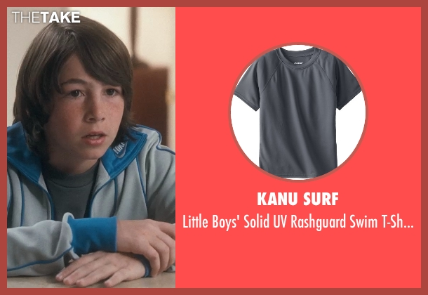 Kanu Surf gray t-shirt from Crazy, Stupid, Love. seen with Jonah Bobo (Robbie)