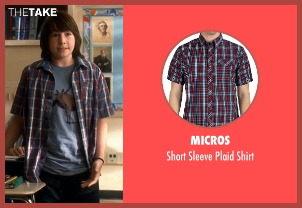 Micros shirt from Crazy, Stupid, Love. seen with Jonah Bobo (Robbie)