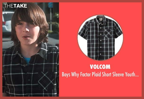 Volcom shirt from Crazy, Stupid, Love. seen with Jonah Bobo (Robbie)