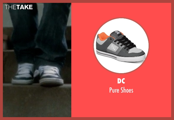 DC white shoes from Crazy, Stupid, Love. seen with Jonah Bobo (Robbie)