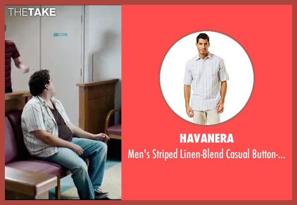 Havanera white shirt from Knocked Up seen with Jonah Hill (Jonah)