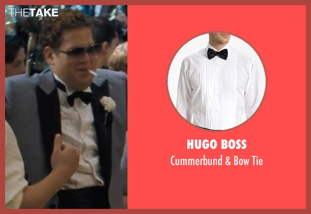 HUGO BOSS black tie from The Wolf of Wall Street seen with Jonah Hill (Donnie Azoff)