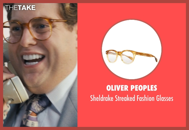 Oliver Peoples glasses from The Wolf of Wall Street seen with Jonah Hill (Donnie Azoff)