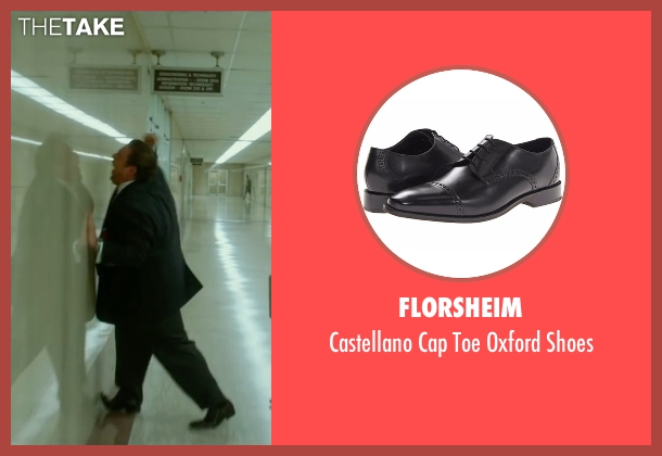 Florsheim black shoes from War Dogs seen with Jonah Hill (Efraim Diveroli)