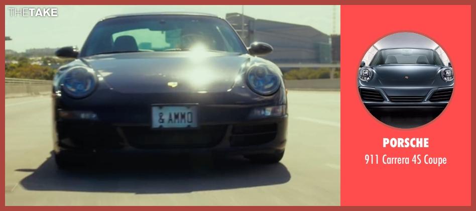 Porsche coupe from War Dogs seen with Jonah Hill (Efraim Diveroli)