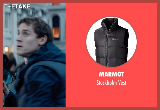Marmot black vest from Thor: The Dark World seen with Jonathan Howard (Ian Boothby)