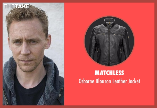 Matchless black jacket from The Night Manager seen with Jonathan Pine (Tom Hiddleston)