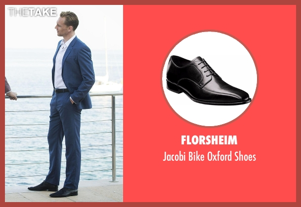 Florsheim black shoes from The Night Manager seen with Jonathan Pine (Tom Hiddleston)