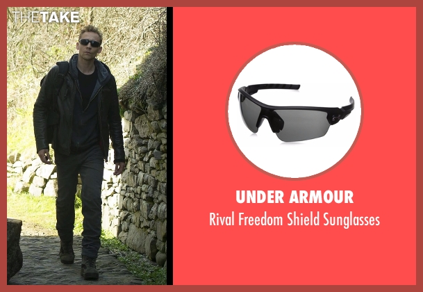 Under Armour black sunglasses from The Night Manager seen with Jonathan Pine (Tom Hiddleston)