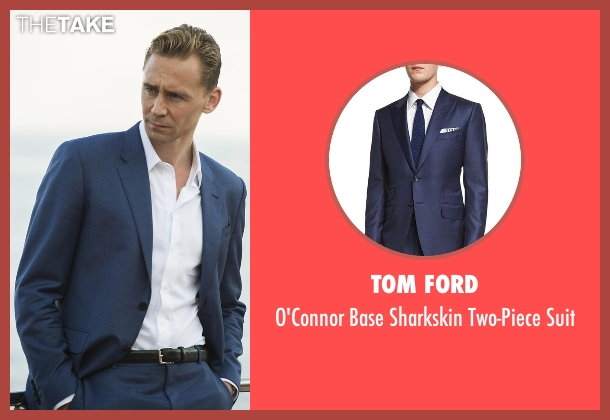 Tom Ford blue suit from The Night Manager seen with Jonathan Pine (Tom Hiddleston)