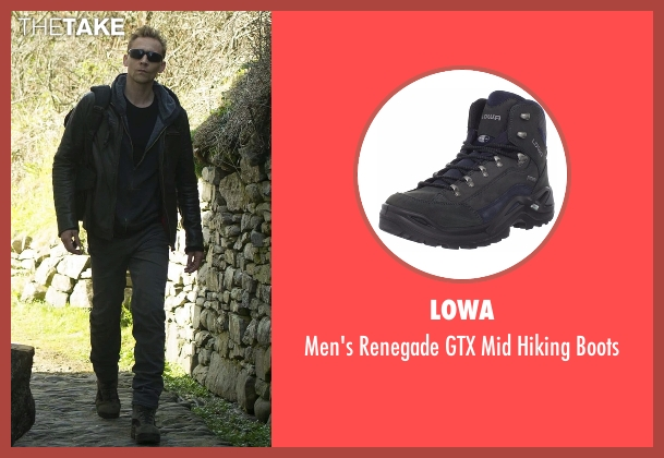 Lowa gray boots from The Night Manager seen with Jonathan Pine (Tom Hiddleston)