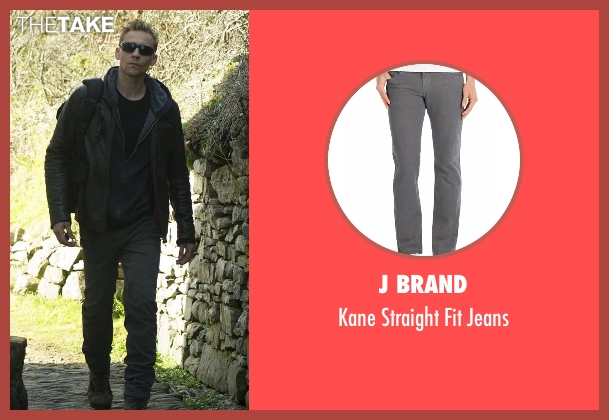 J Brand gray jeans from The Night Manager seen with Jonathan Pine (Tom Hiddleston)