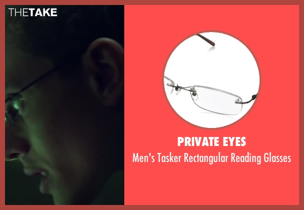 Private Eyes black glasses from Project Almanac seen with Jonny Weston (David Raskin)