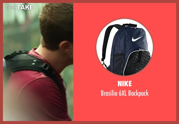 Nike blue backpack from Project Almanac seen with Jonny Weston (David Raskin)