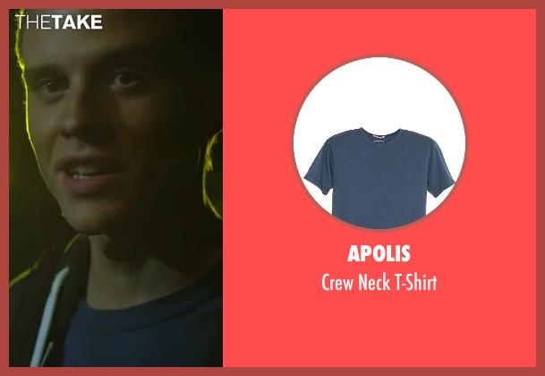 Apolis blue t-shirt from Project Almanac seen with Jonny Weston (David Raskin)