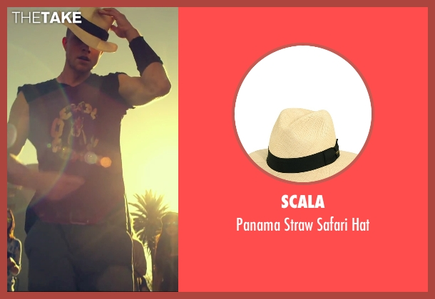 Scala beige hat from We Are Your Friends seen with Jonny Weston (Mason)