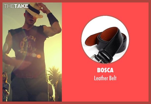 Bosca black belt from We Are Your Friends seen with Jonny Weston (Mason)