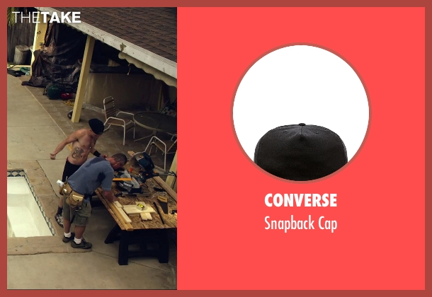 Converse black cap from We Are Your Friends seen with Jonny Weston (Mason)