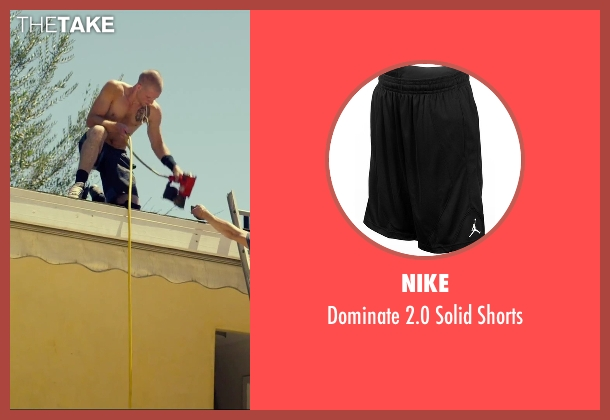 Nike black shorts from We Are Your Friends seen with Jonny Weston (Mason)