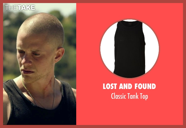 Lost And Found black top from We Are Your Friends seen with Jonny Weston (Mason)