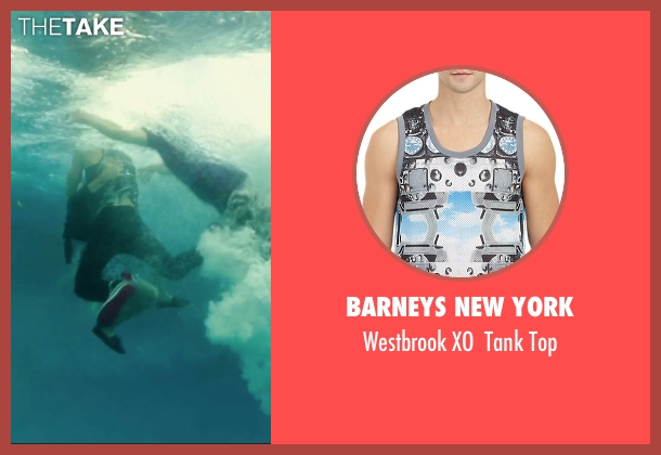Barneys New York black top from We Are Your Friends seen with Jonny Weston (Mason)