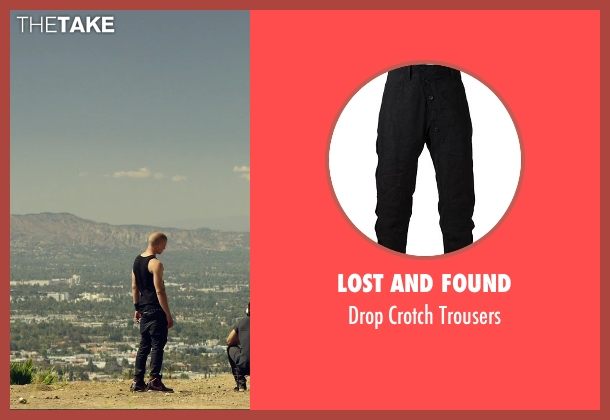 Lost And Found black trousers from We Are Your Friends seen with Jonny Weston (Mason)