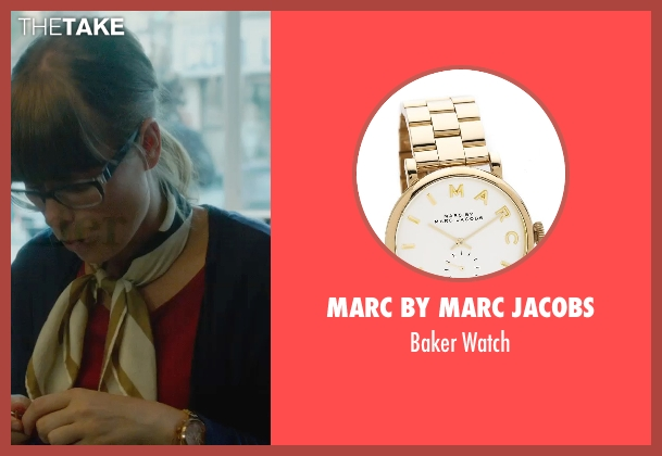 Marc by Marc Jacobs gold watch from What If seen with Jordan Hayes (Nicole)
