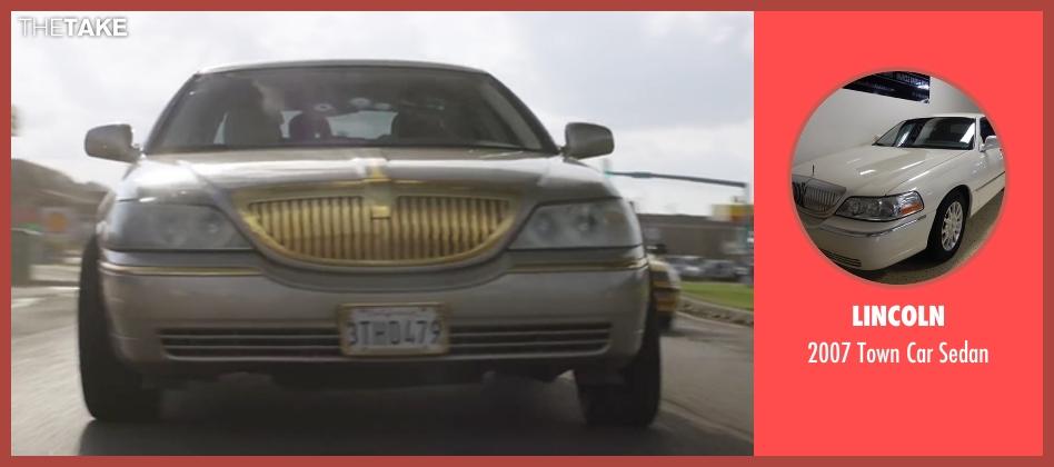 Lincoln sedan from Keanu seen with Jordan Peele (Rell Williams)