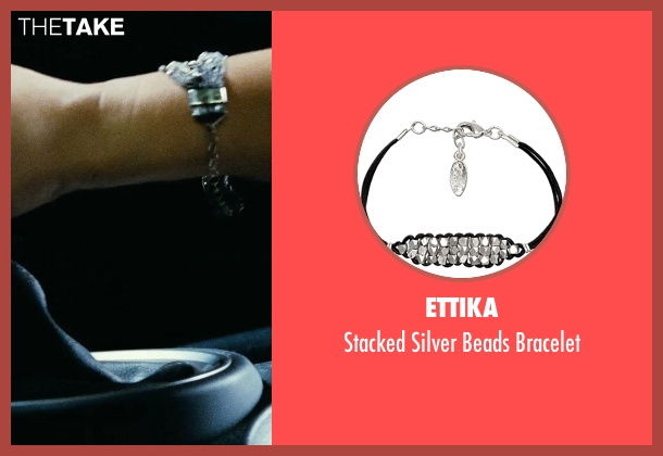 Ettika black bracelet from Fast Five seen with Jordana Brewster (Mia Toretto)