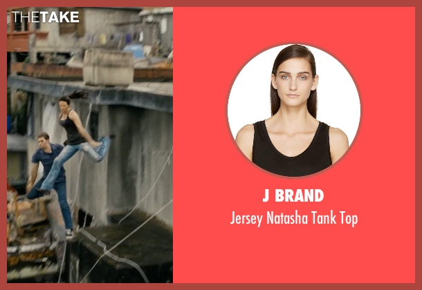 J Brand black top from Fast Five seen with Jordana Brewster (Mia Toretto)