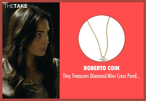 Roberto Coin gold pendant from Fast Five seen with Jordana Brewster (Mia Toretto)