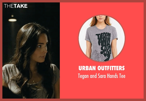 Urban Outfitters gray tee from Fast Five seen with Jordana Brewster (Mia Toretto)