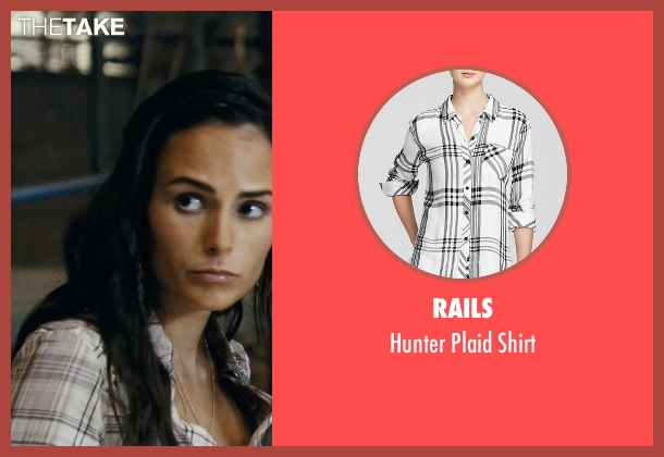 Rails white shirt from Fast Five seen with Jordana Brewster (Mia Toretto)