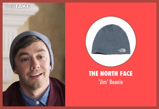 The North Face blue beanie from Popstar: Never Stop Never Stopping seen with Jorma Taccone (Unknown Character)