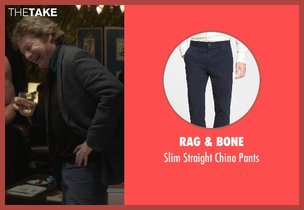 Rag & Bone blue pants from That Awkward Moment seen with Joseph Adams (Ellie's Dad)