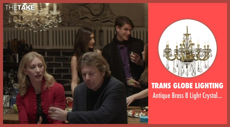 Trans Globe Lighting chandelier from That Awkward Moment seen with Joseph Adams (Ellie's Dad)