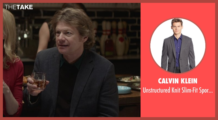 Calvin Klein gray coat from That Awkward Moment seen with Joseph Adams (Ellie's Dad)