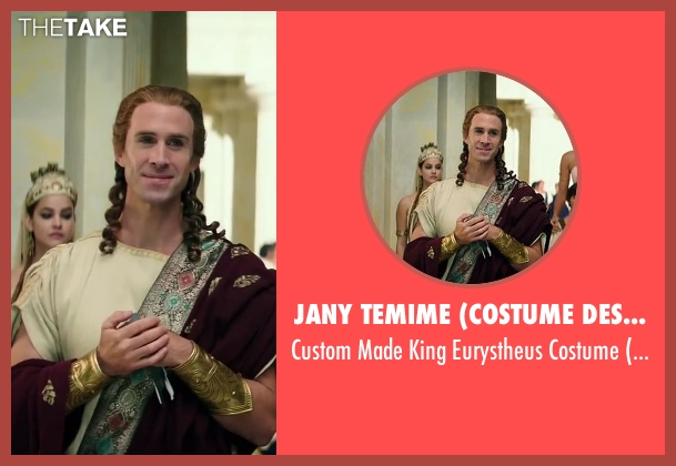 Jany Temime (Costume Designer) costume from Hercules seen with Joseph Fiennes (King Eurystheus)