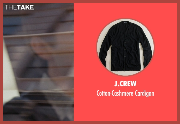 J.Crew black cardigan from (500) Days of Summer seen with Joseph Gordon-Levitt (Tom)