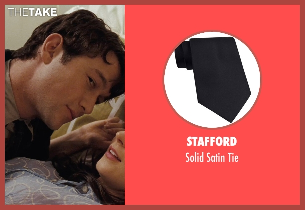 Stafford black tie from (500) Days of Summer seen with Joseph Gordon-Levitt (Tom)