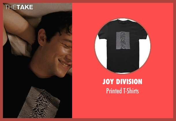 Joy Division black t-shirts from (500) Days of Summer seen with Joseph Gordon-Levitt (Tom)