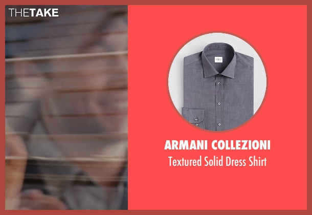 Armani Collezioni gray shirt from (500) Days of Summer seen with Joseph Gordon-Levitt (Tom)