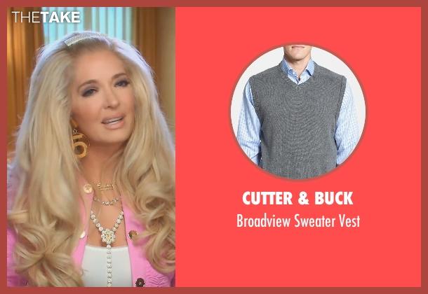 Cutter & Buck gray vest from (500) Days of Summer seen with Joseph Gordon-Levitt (Tom)