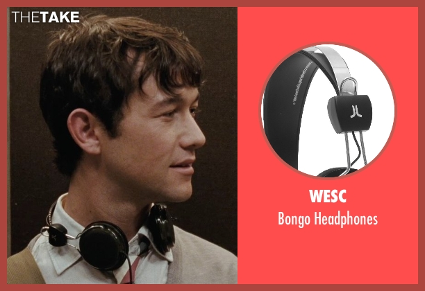 WeSC headphones from (500) Days of Summer seen with Joseph Gordon-Levitt (Tom)