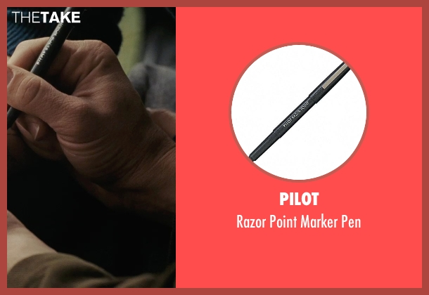 Pilot pen from (500) Days of Summer seen with Joseph Gordon-Levitt (Tom)