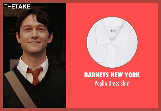 Barneys New York white shirt from (500) Days of Summer seen with Joseph Gordon-Levitt (Tom)