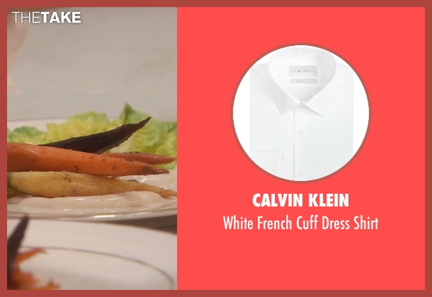 Calvin Klein white shirt from (500) Days of Summer seen with Joseph Gordon-Levitt (Tom)