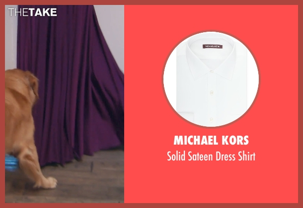 Michael Kors white shirt from (500) Days of Summer seen with Joseph Gordon-Levitt (Tom)
