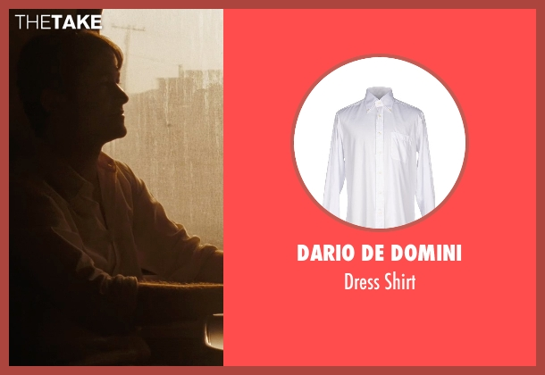 Dario De Domini white shirt from (500) Days of Summer seen with Joseph Gordon-Levitt (Tom)